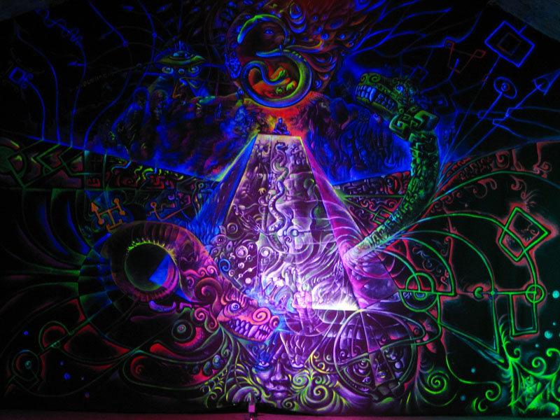 Party Flyer TRIBAL TEMPLE 5th Dimension - Old School Goa Pure Vinyl Night II 20 Dec '19, 23:30
