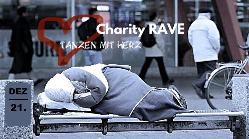 Party Flyer Charity Rave / tanzen mit Herz! 21 Dec '19, 23:00