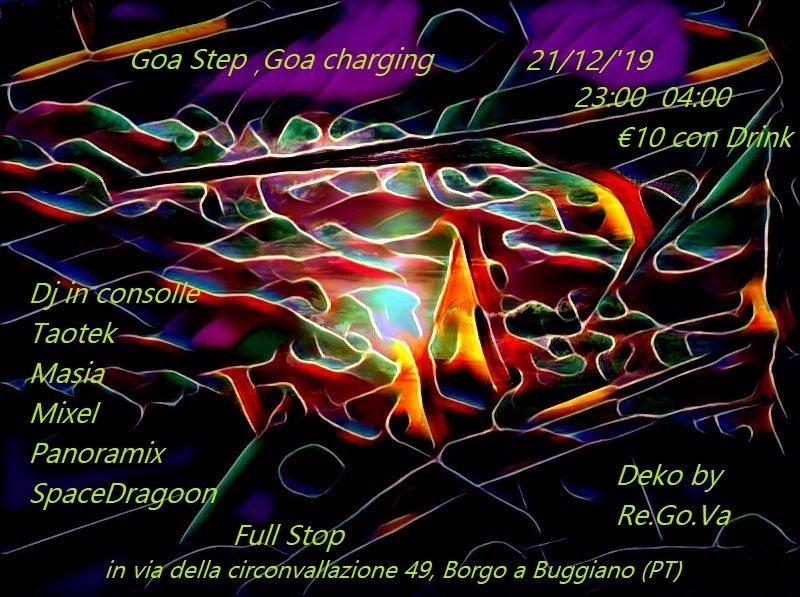 Party Flyer Goa Charging 21 Dec '19, 22:30