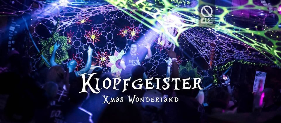 Party Flyer Klopfgeister · XMAS Wonderland 25 Dec '19, 22:00