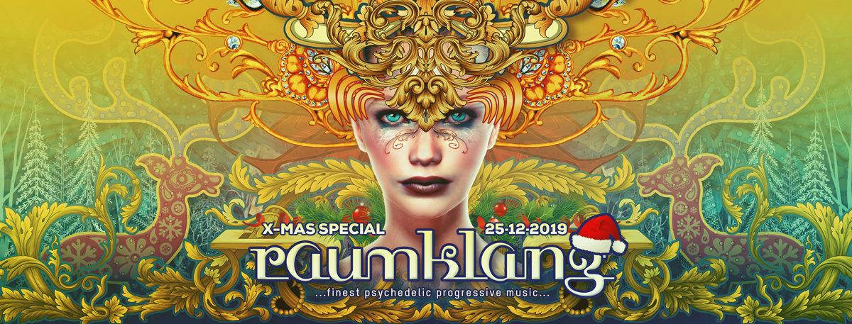 Party Flyer Raumklang 25.12.2019 - X-Tra, Zürich 25 Dec '19, 20:30