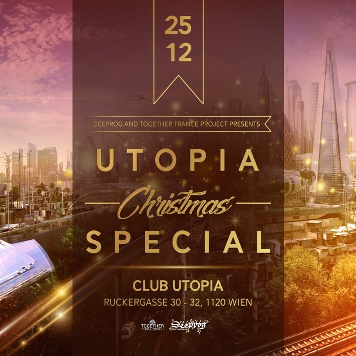 "Party Flyer UTOPIA ""Christmas Special"" 25 Dec '19, 22:00"