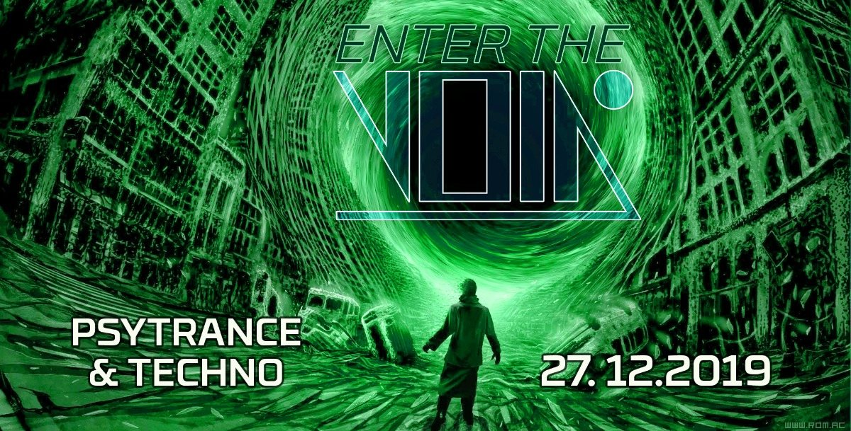 Party Flyer Enter the Void 27 Dec '19, 23:00
