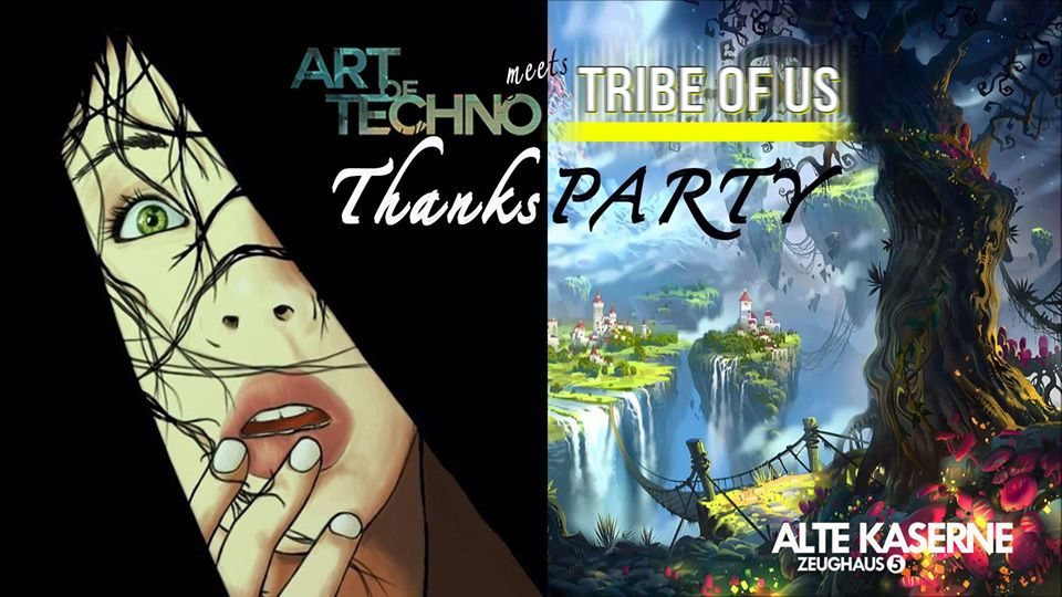 Art of Techno meets Tribe of Us 28 Dec '19, 23:00