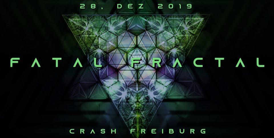 Party Flyer Fatal Fractal 28 Dec '19, 22:00
