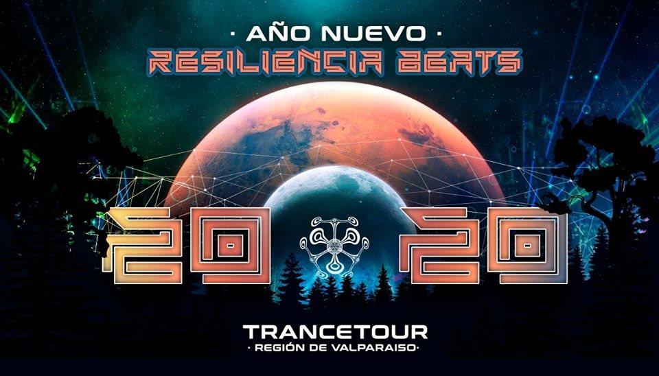 Party Flyer Año Nuevo 20 20 - Resiliencia Beats 31 Dec '19, 04:00
