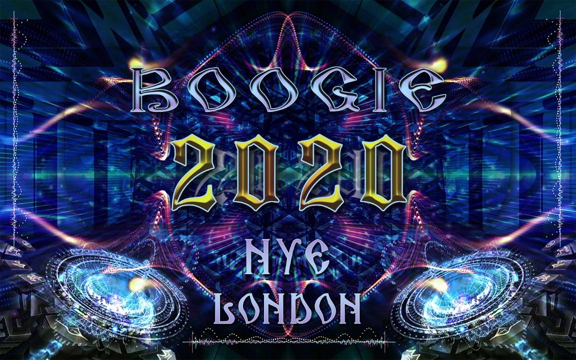 Party Flyer BOOGIE 2020 ★ NEW YEARS EVE ★ LONDON 31 Dec '19, 22:00