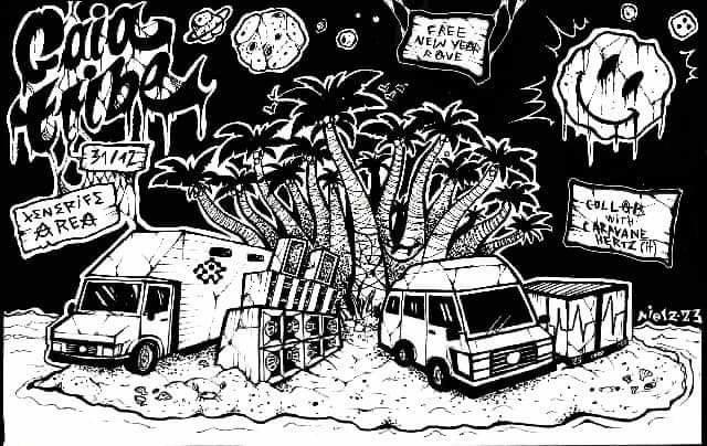 Gaia tribe free Newyears Rave 31 Dec '19, 22:00