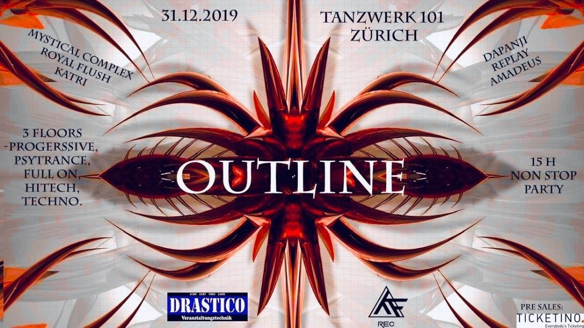 OUTLINE NEW YEARS SPECIAL 31 Dec '19, 20:00