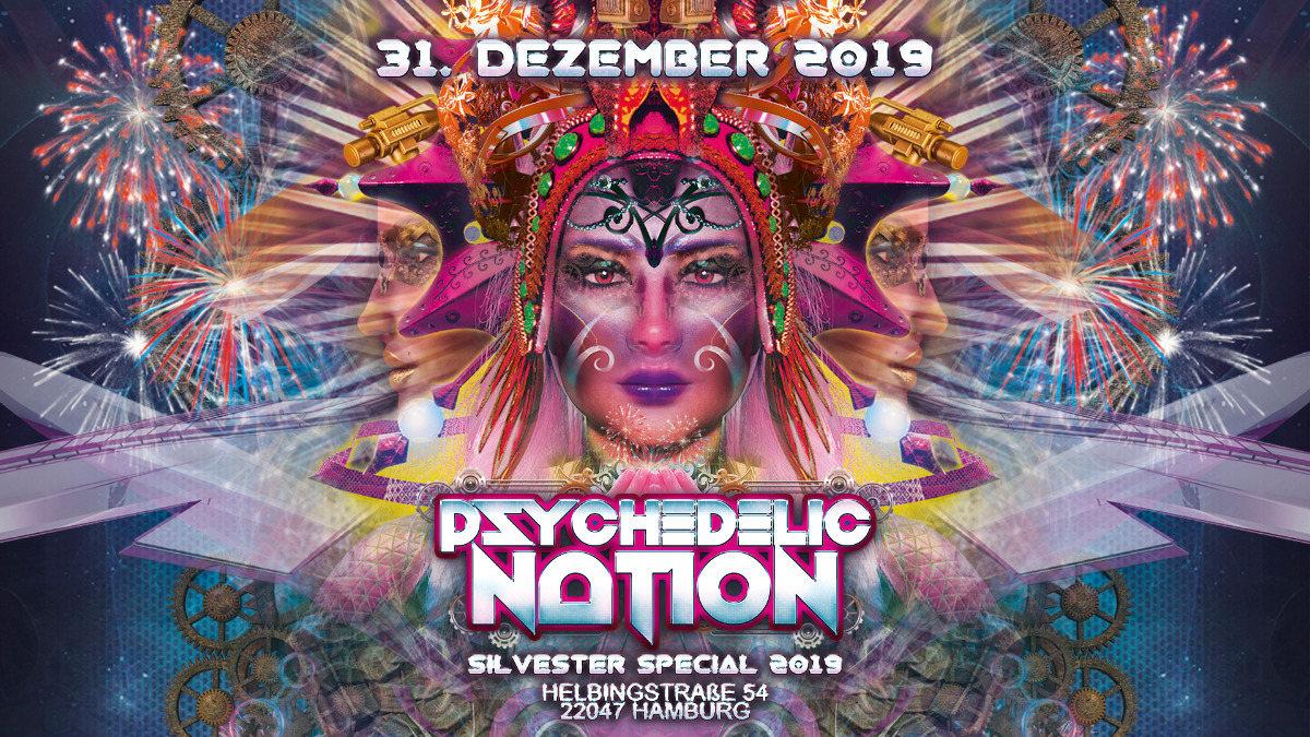 Psychedelic Nation 2019 31 Dec '19, 18:00
