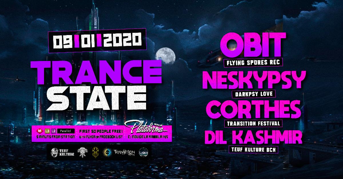 Trance State 9 Jan '20, 23:30
