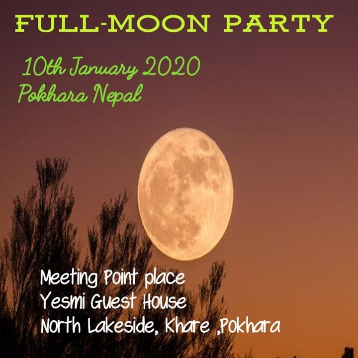Full Moon Party 10 Jan '20, 01:30
