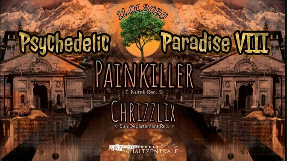 Psychedelic Paradise 8 11 Jan '20, 22:00