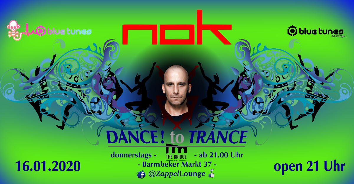 DANCE! to TRANCE 16 Jan '20, 21:00