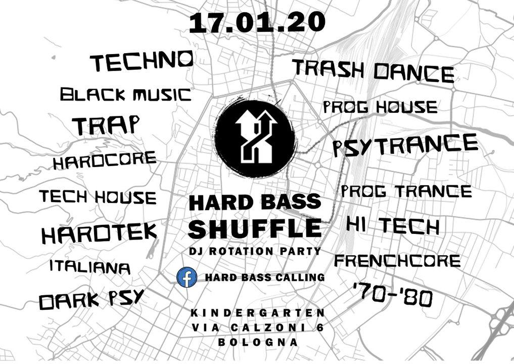 Hard bass Shuffle - Dj Rotation Party 17 Jan '20, 23:00