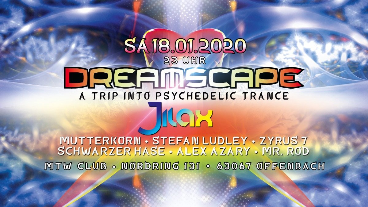 Party Flyer Dreamscape with Jilax 18 Jan '20, 23:00