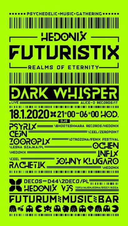 Party Flyer FuturistiX 18 Jan '20, 21:00