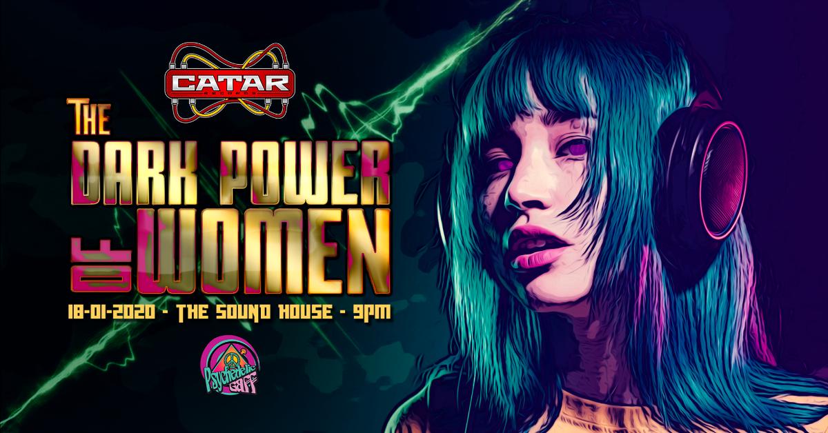 Psychedelic Gaff #21 The Dark Power of Women w/ Insane Creatures & Tyndra 18 Jan '20, 21:00