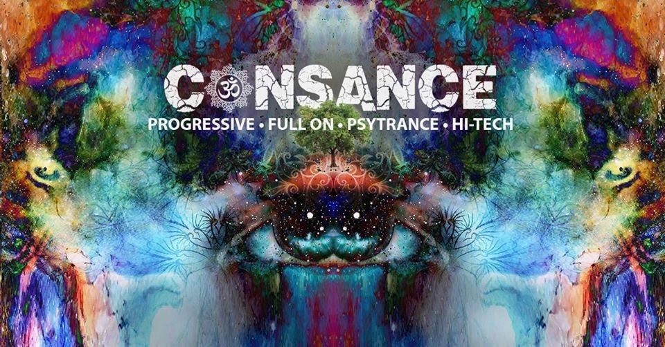 Party Flyer CONSANCE - conscious trance 24 Jan '20, 23:00