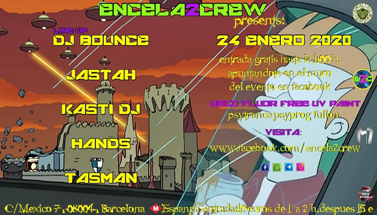 ENCELA2CREW PRESENTS: 24 Jan '20, 23:30