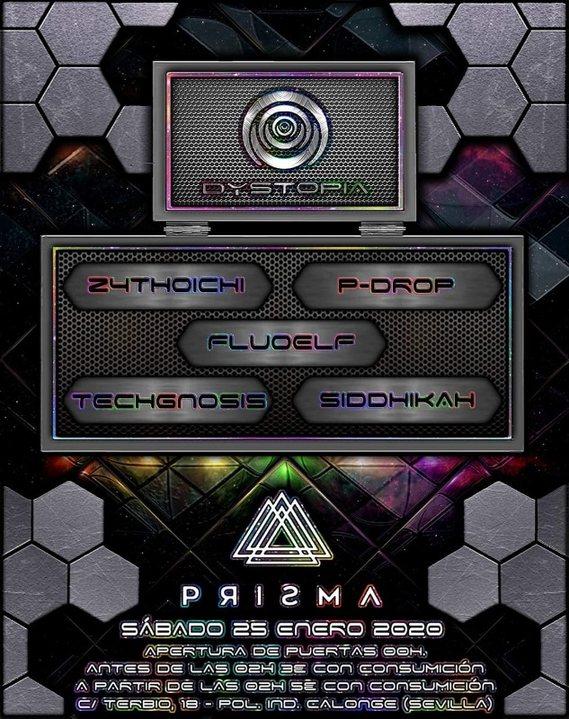 Party Flyer Dystopia 25 Jan '20, 23:30