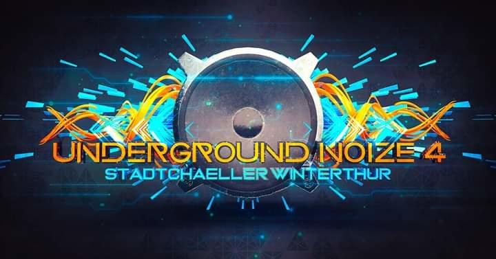 Party Flyer Underground Noize 4//Hammerer/live 25 Jan '20, 23:00