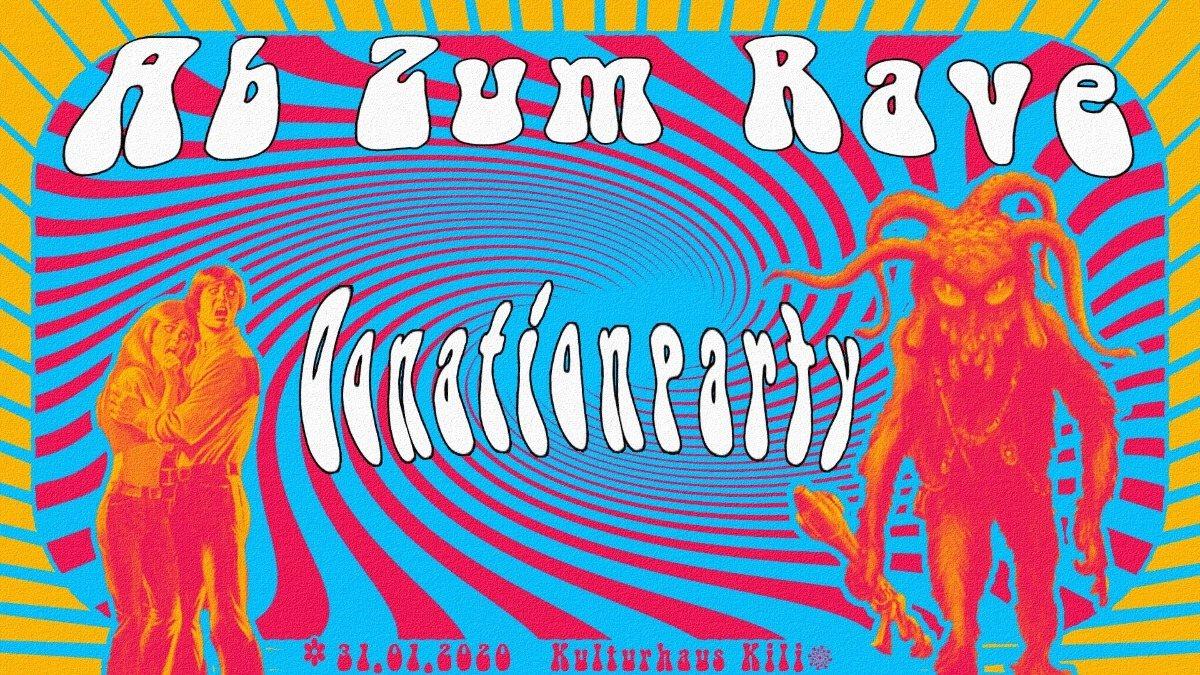 Freeparty ༆ Ab Zum Rave: Hitech, Techno & Voting on 3 Floors 31 Jan '20, 23:00