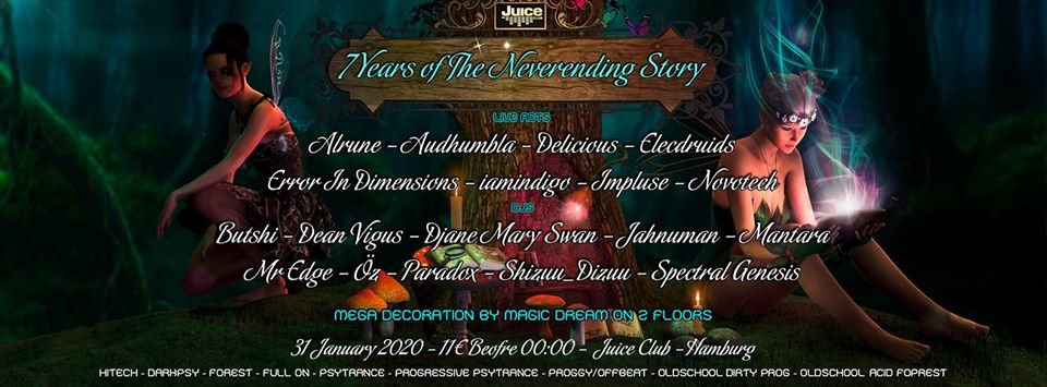 Party Flyer TNS: 7 Years Celebration on 2 floors (Dean Vigus & Mantara Bday) 31 Jan '20, 22:00