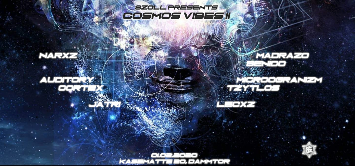 Party Flyer [8Zoll]Cosmos Vibes II 1 Feb '20, 23:00