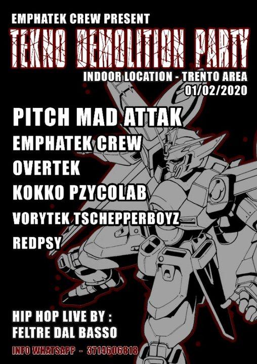 demolition party 1 Feb '20, 22:00