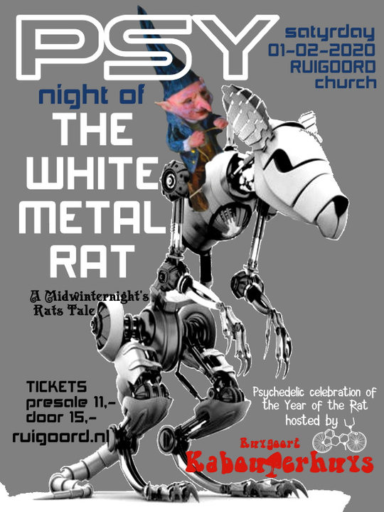 PSY (Night of) The White Metal Rat 1 Feb '20, 22:00