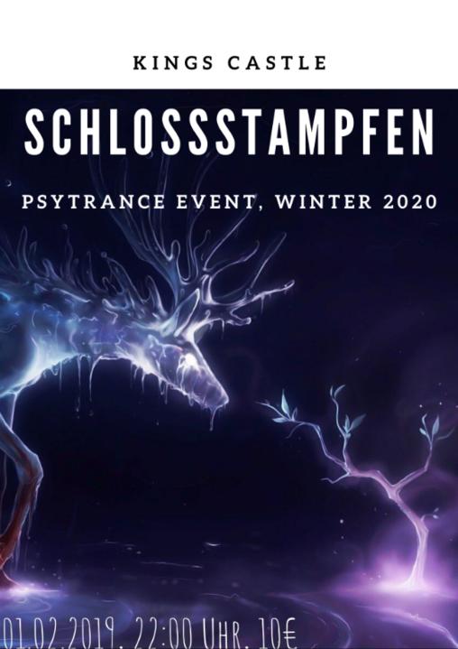 Party Flyer Schlossstampfen 1 Feb '20, 22:00