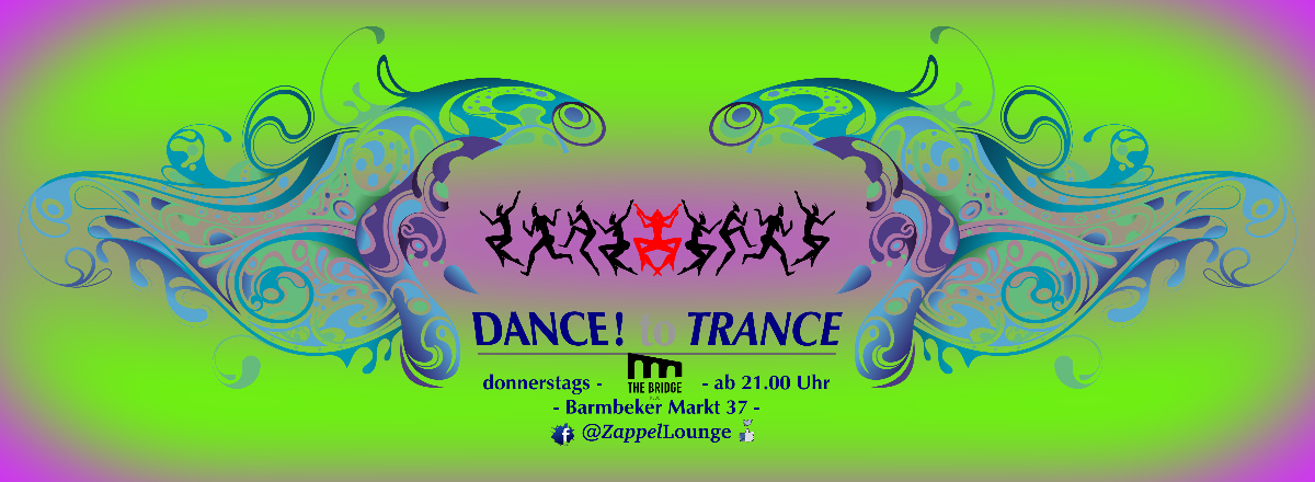 Party Flyer DANCE! to TRANCE 6 Feb '20, 21:00