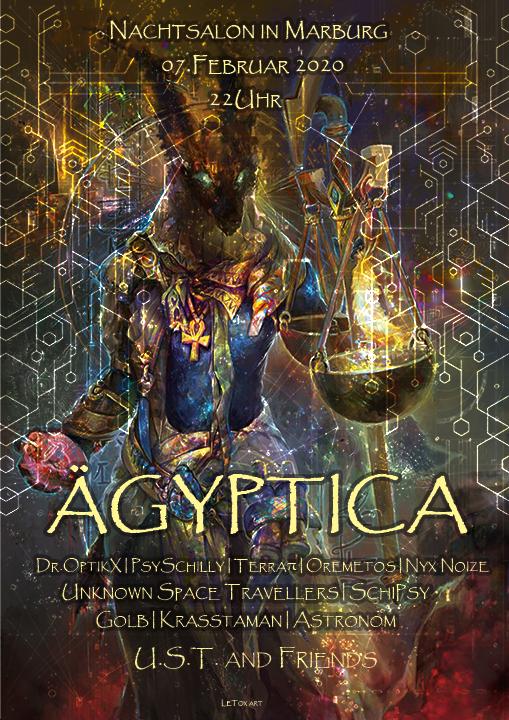 ÄGYPTICA 7 Feb '20, 22:00