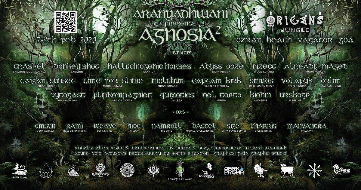 Party Flyer Agnosia 2 7 Feb '20, 15:00