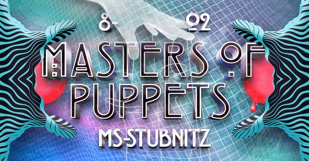 Party Flyer Masters Of Puppets PreParty • Loose Connection • Bombax • 8 Feb '20, 23:00