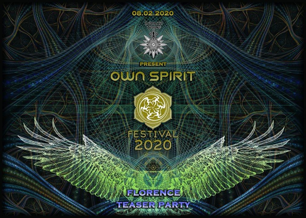 .: OWN SPIRIT FESTIVAL- Teaser Party 8 Feb '20, 23:00