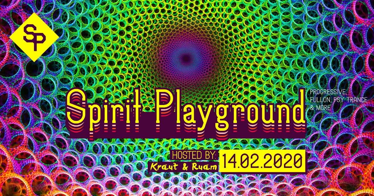 Spirit Playground with Audiomatic 14 Feb '20, 22:00