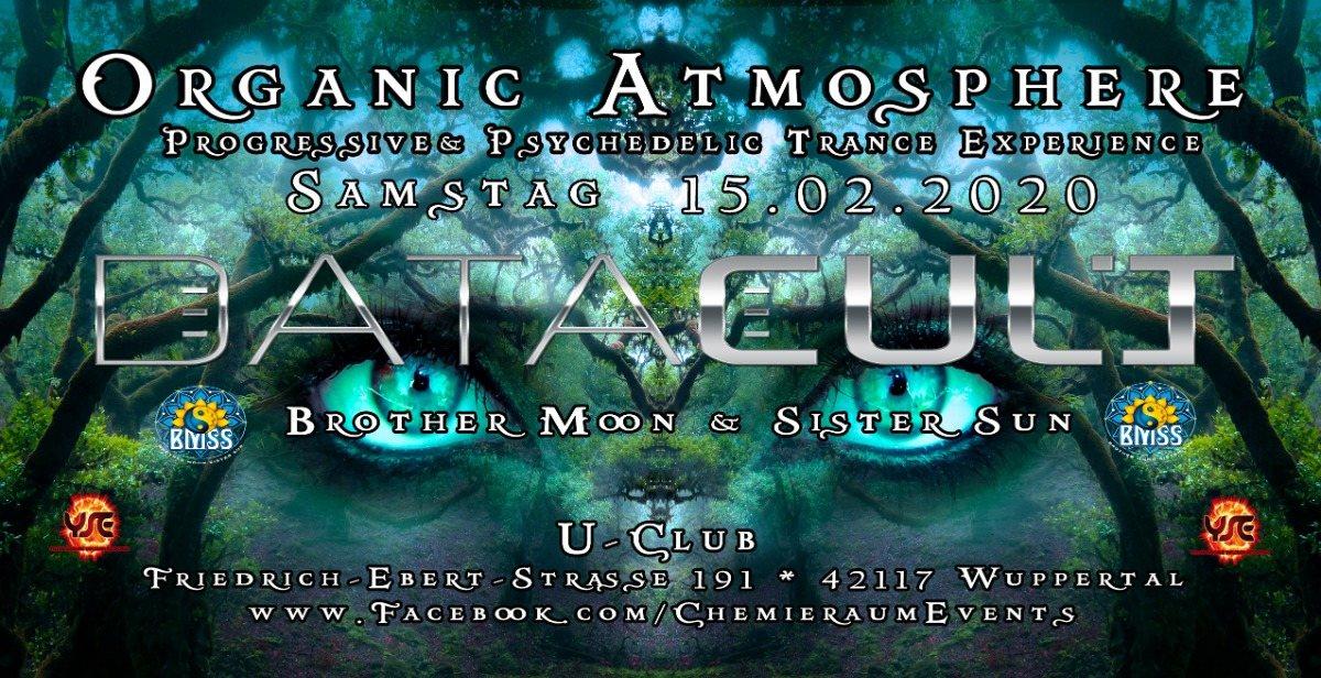Party Flyer ॐ Organic Atmosphere ॐ 15 Feb '20, 23:00