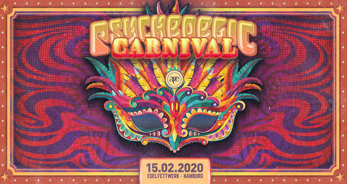 Party Flyer Psychedelic Carnival 15 Feb '20, 22:00