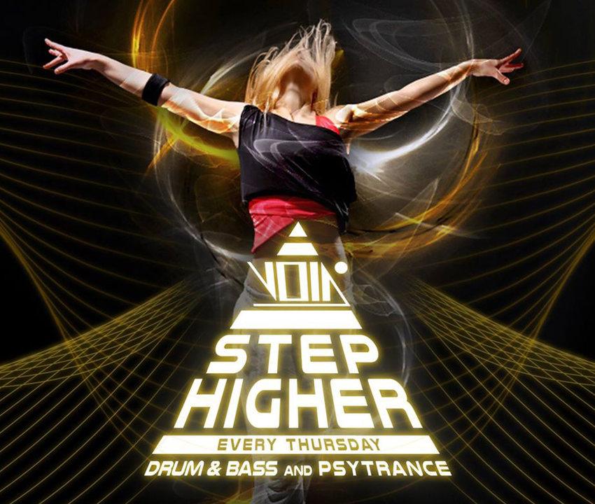 Party Flyer Step higher on Thursdays 20 Feb '20, 23:00