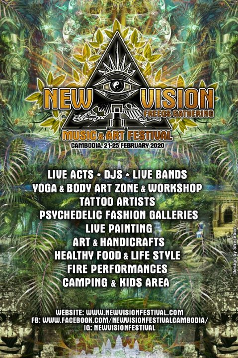 NEW VISION music & art Festival 21 Feb '20, 16:00