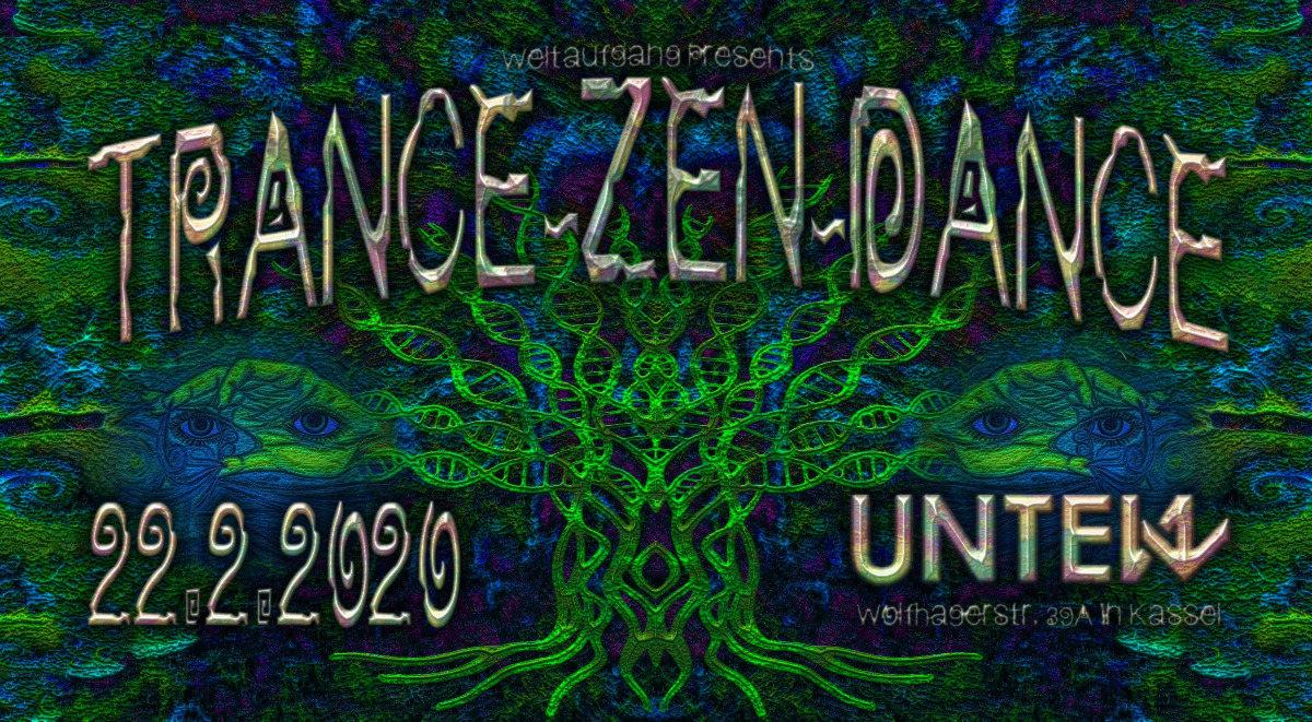 Party Flyer Trance-Zen-Dance 22 Feb '20, 23:00