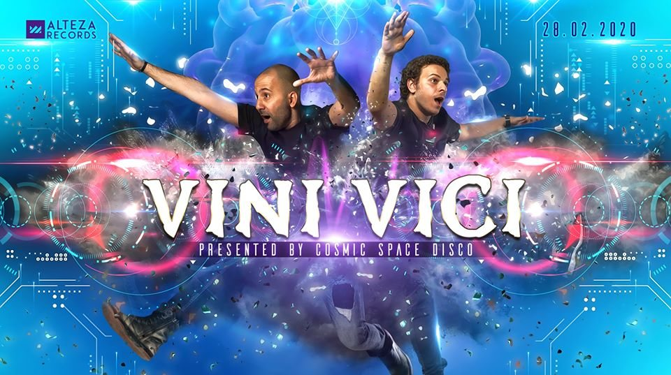 Party Flyer VINI VICI pres. by Cosmic Space Disco 28 Feb '20, 22:00