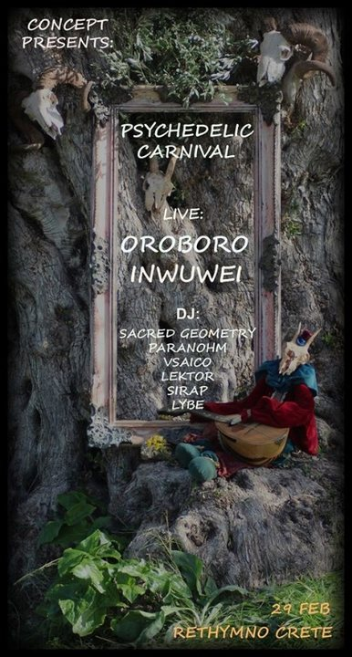 Party Flyer Concept Carnival 29 Feb '20, 19:00