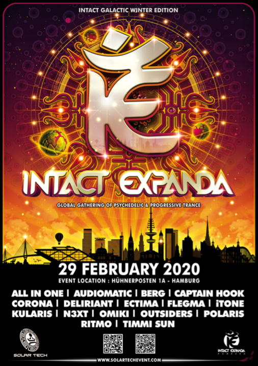 Party Flyer Intact Expanda 2020 29 Feb '20, 22:00