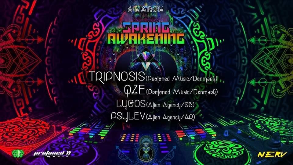 Party Flyer AlienAgency presents: Spring Awakening 6 Mar '20, 23:00