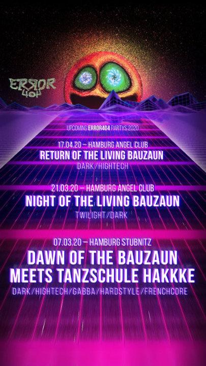 Down of the bauzaun 7 Mar '20, 23:00