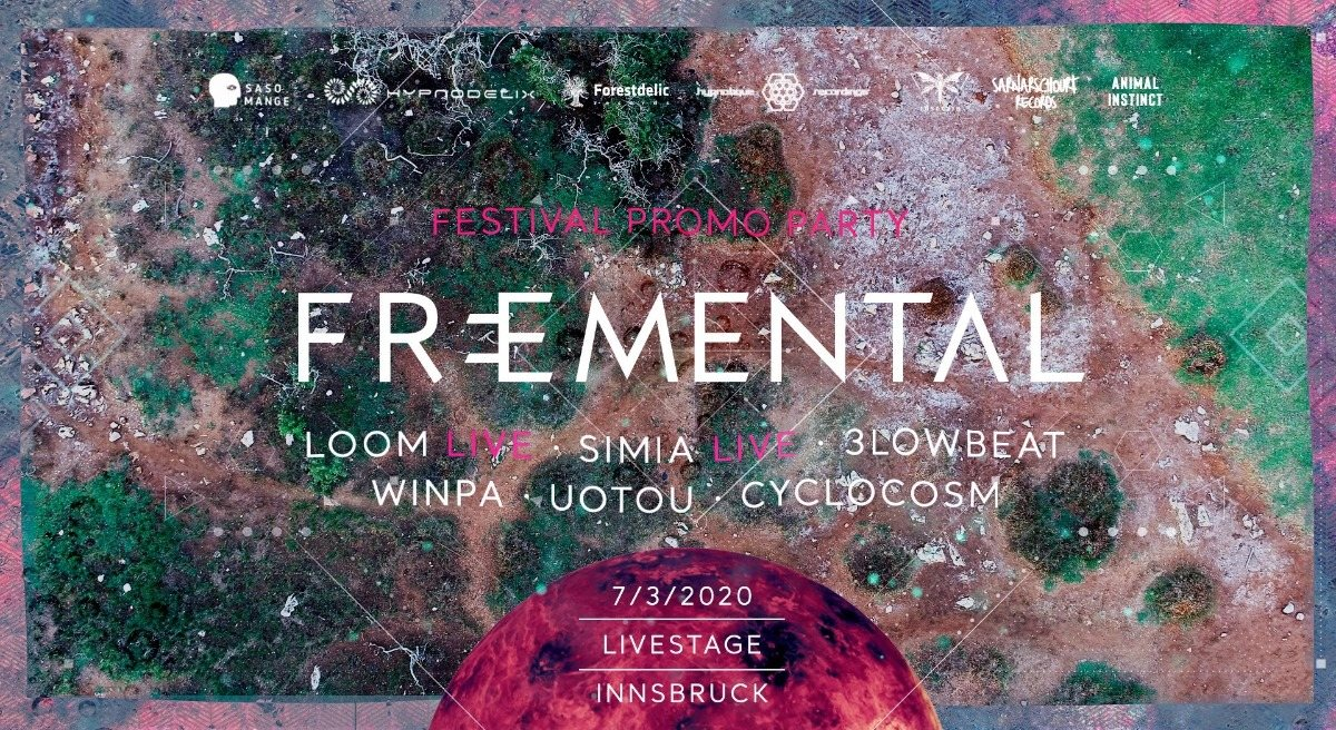 Party Flyer FreeMental Official Teaser Party Austria 2020 7 Mar '20, 22:00