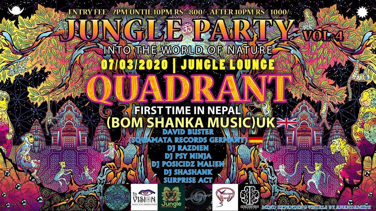 Jungle Party Vol 4 7 Mar '20, 19:00